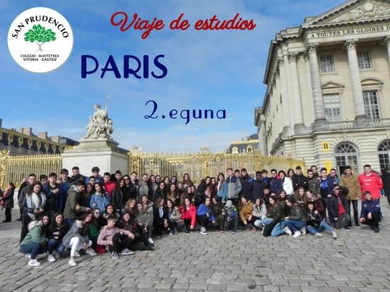 Segundo día en París