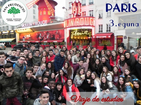 Tercer día en París