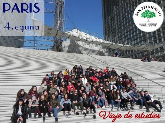 Cuarto día en París