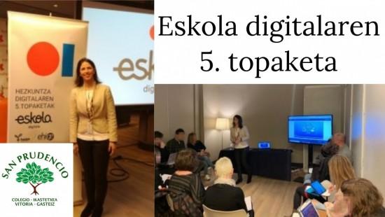 V. Encuentro Eskola Digitala