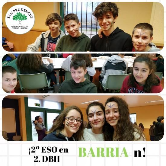 ¡1er DÍA EN BARRIA!