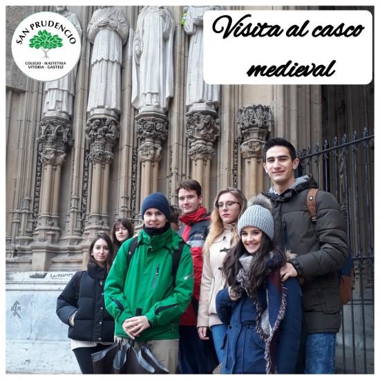 Visita al Casco medieval