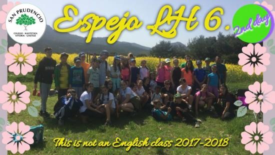 Los de 6º de Primaria en Espejo. 2nd day.