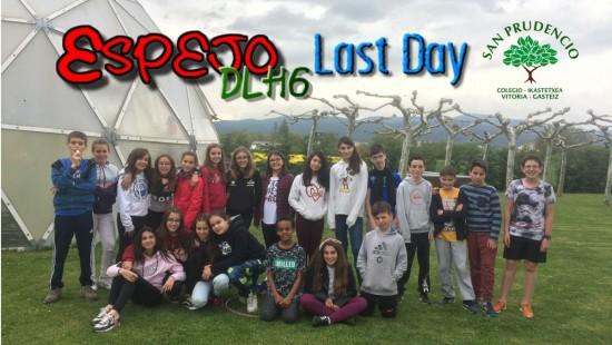 Los de 6º de Primaria en Espejo: Last day