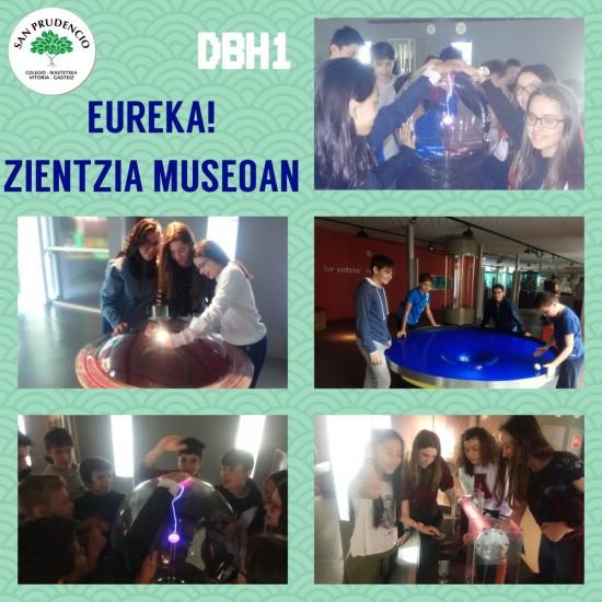 DBH1eko ikasleak zientzia museoan