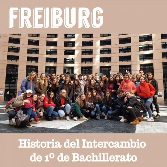 Batxilergoko 1 mailako ikasleak Freiburgen