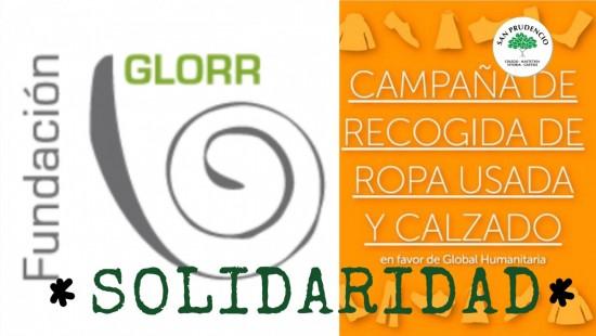 SOLIDARIDAD. Campaña de recogida de ropa y calzado usado.