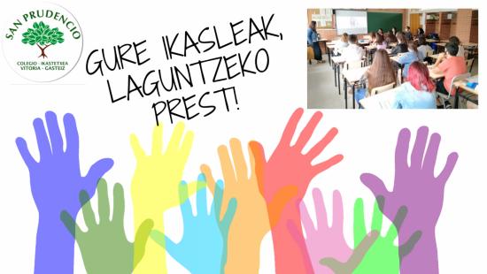 GURE IKASLEAK, LAGUNTZEKO PREST