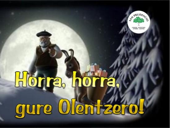 Badator Olentzero!