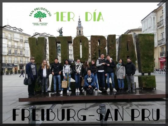 PRIMER DÍA FREIBURG-SAN PRUDENCIO