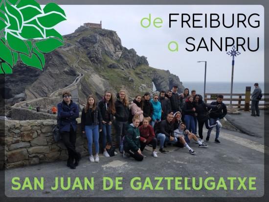 SEGUNDO DÍA DE FREIBURG-SAN PRUDENCIO