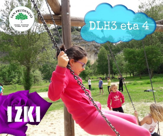 Los de 3º y 4º en el Parque Natural de Izki