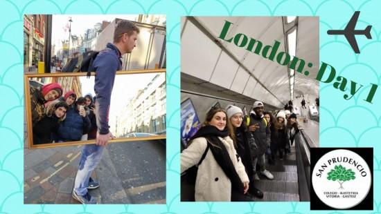 Primer día en Londres