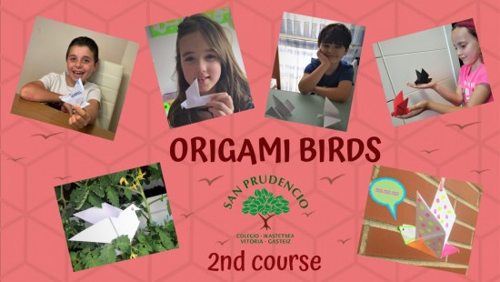 2nd COURSE ORIGAMI BIRDS