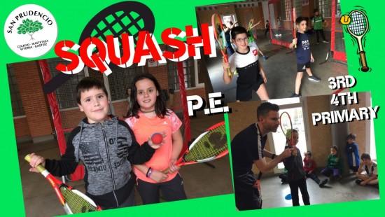 Masterclass de Squash en San Prudencio