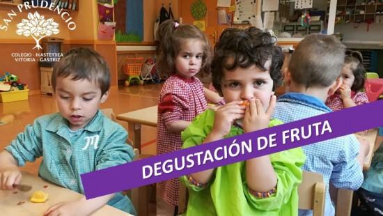 DEGUSTACIÓN DE FRUTAS