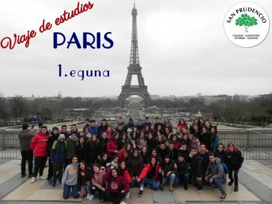Lehenengo eguna Parisen