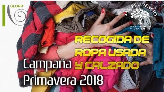Campaña primavera 2018 de recogida de ropa usada y calzado