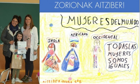 Felicidades, Aitziber Ibarra!!!