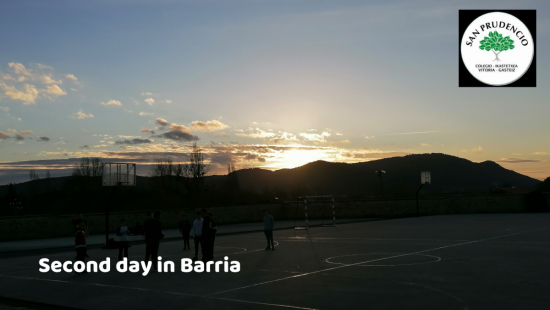 Segundo día en Barria