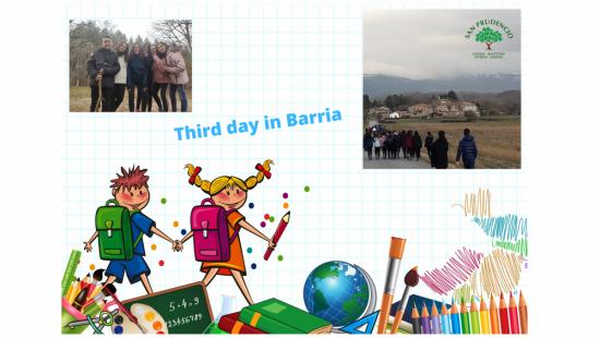 Tercer día en Barria