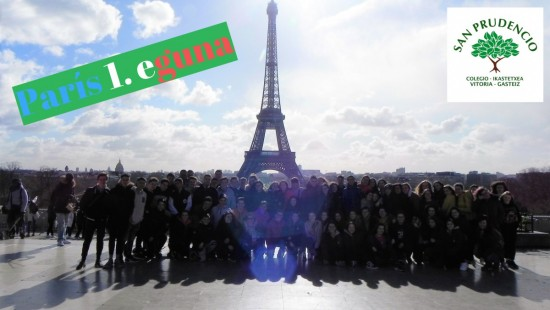 Paris 1. eguna