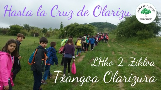 Excursión a Olarizu. 2º Ciclo de Primaria.