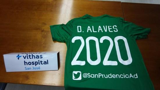 Renovado el convenio con el Deportivo Alavés hasta 2020