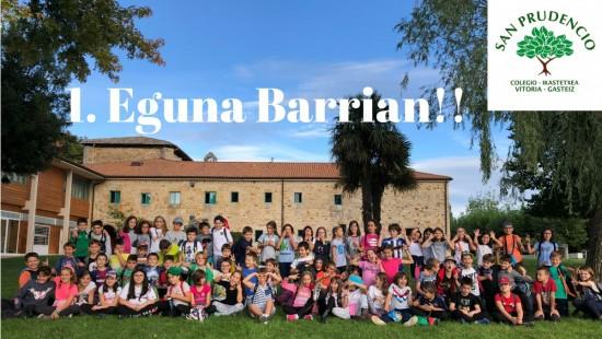 Lehenengo eguna Barrian!!