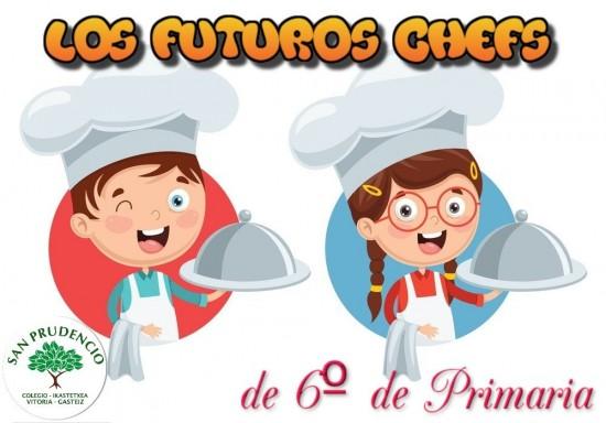 Los de 6º de Primaria, futuros chefs