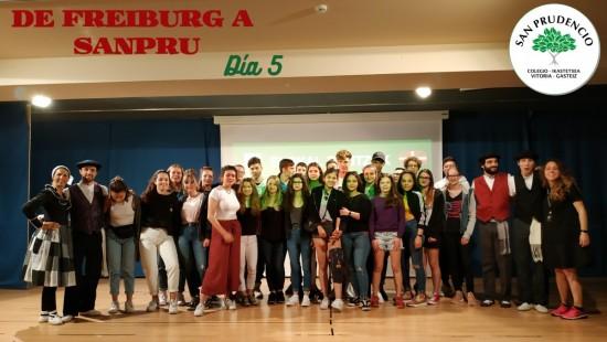 De Freiburg a SanPru. Día 5.