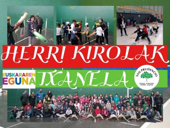 Fin de proyecto Txanela (4º EPO): Herri Kirolak