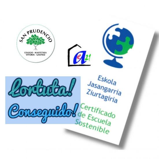 Certificado de Escuela Sostenible