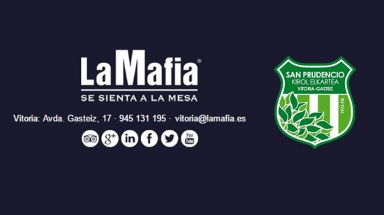 LA MAFIA VITORIA Y AD SAN PRUDENCIO RENUEVAN SU ACUERDO DE PATROCINIO