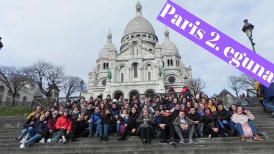 Paris 2. eguna