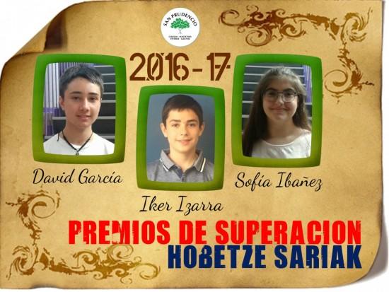 Premios de Superación.
