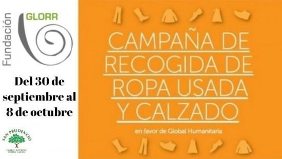 CAMPAÑA OTOÑO 2019 DE RECOGIDA DE ROPA USADA Y CALZADO