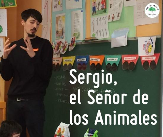 Sergio, el Señor de los animales