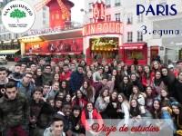 Hirugarren eguna Parisen