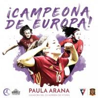 Paula Arana, CAMPEONA de EUROPA.