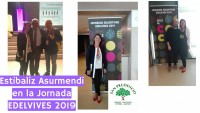 NUESTRA COMPAÑERA ESTIBALIZ ASURMENDI EN LA JORNADA EDELVIVES 2019 EN ZARAGOZA