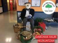 Gabonak Haur Hezkuntzan!