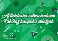 EXTRAESCOLARES Y DEPORTE CURSO 2019-20