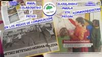 ¡¡LOS MEDIOS DE COMUNICACIÓN SE HACEN ECO DE NUESTRO MURAL COLABORATIVO!!
