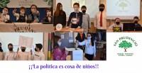 ¡¡LA POLÍTICA ES COSA DE NIÑ@S!!