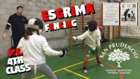 ESGRIMA IN PHYSICAL EDUCATION!