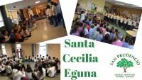 Horrela ospatzen dugu Santa Cecilia eguna San Prudencio Ikastetxean