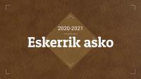 ESKERRIK ASKO!!