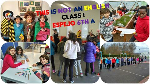 6º A en Espejo: This is not an English class!